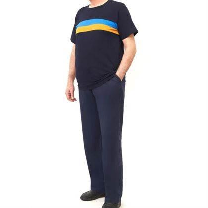 t-shirt uomo taglia 10xl PANTALONE UOMO EXTRALARGE COTONE POPELIN TASCHE DIETRO